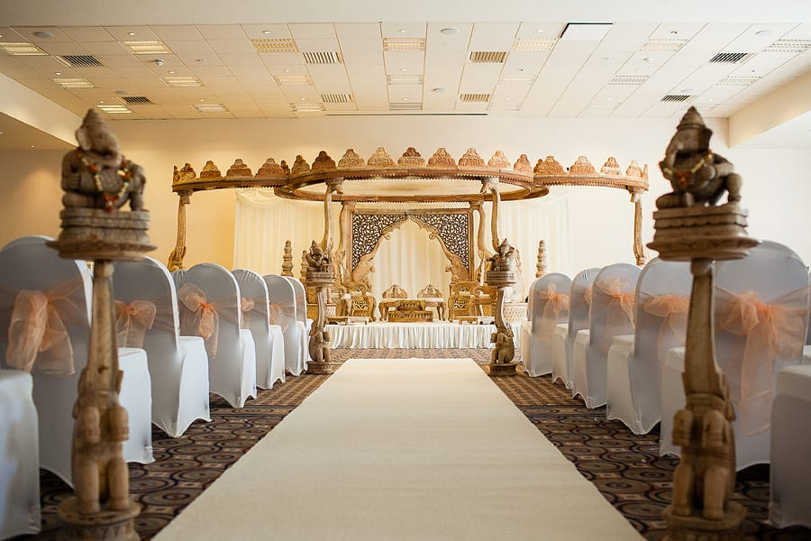 Beaumont House, Windsor, Interior, Mandap decor