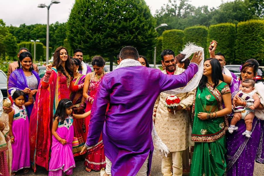 the grove asian wedding photography
