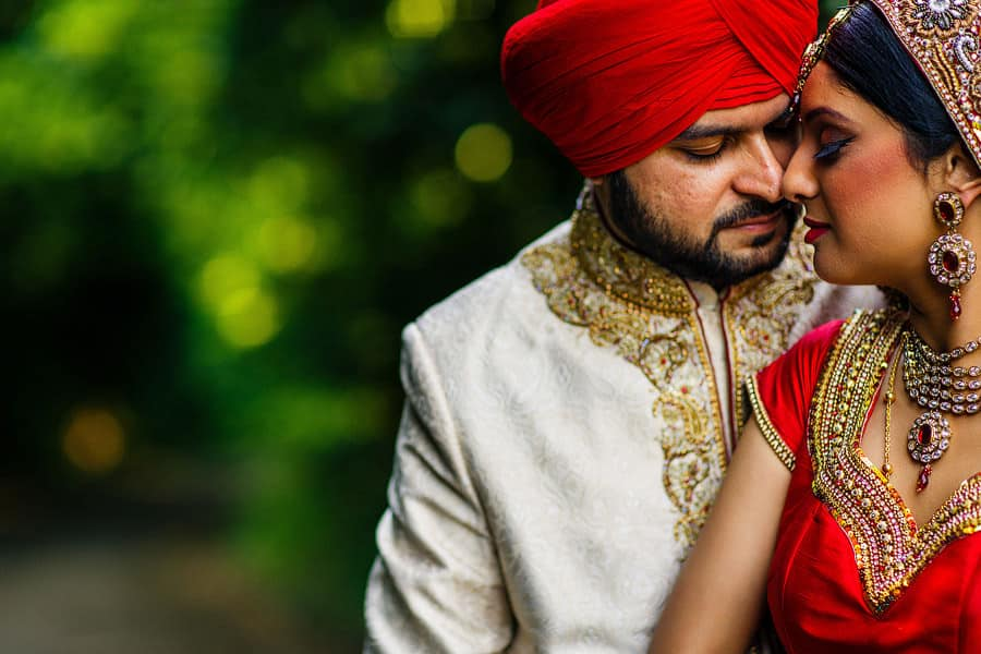punjabi sikh wedding portrait photography