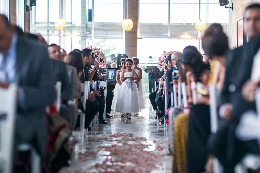 playa del carmen south asian wedding