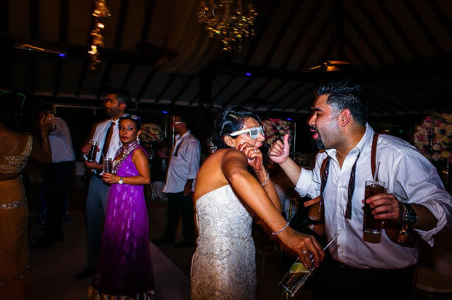 destination south asian wedding reception