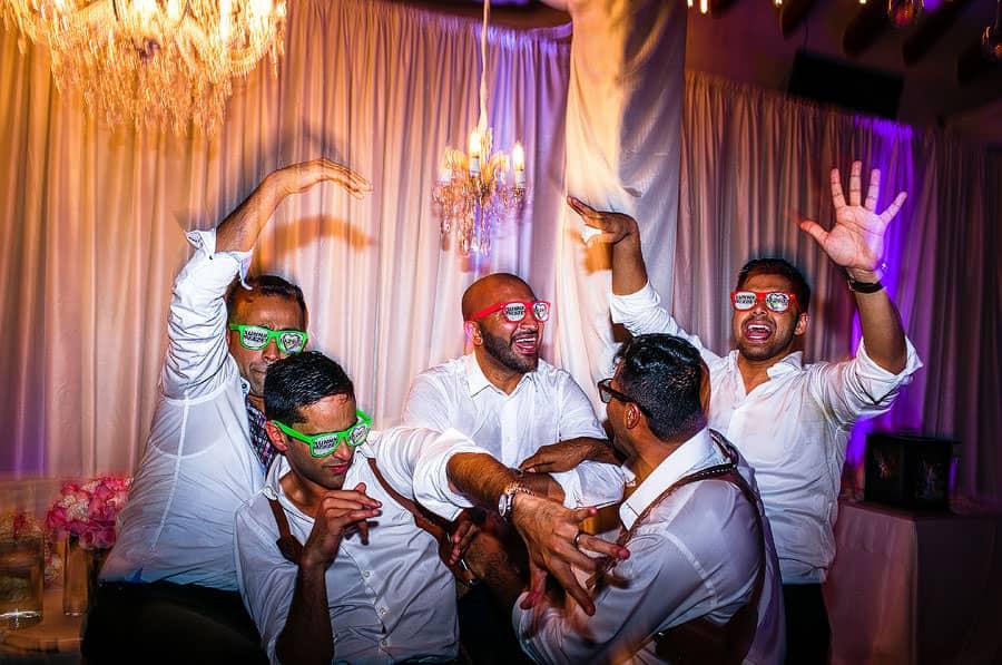 destination south asian wedding reception