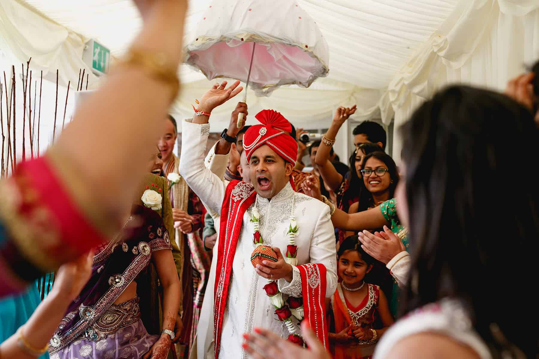 quendon hall asian wedding