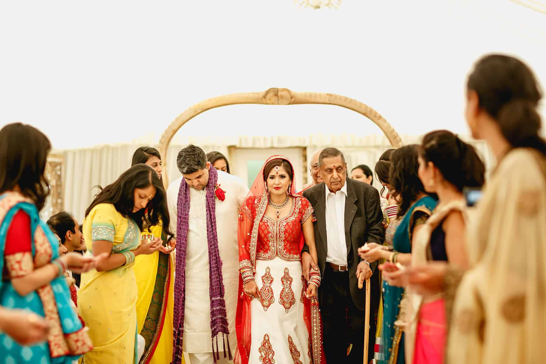 quendon hall asian wedding photographer