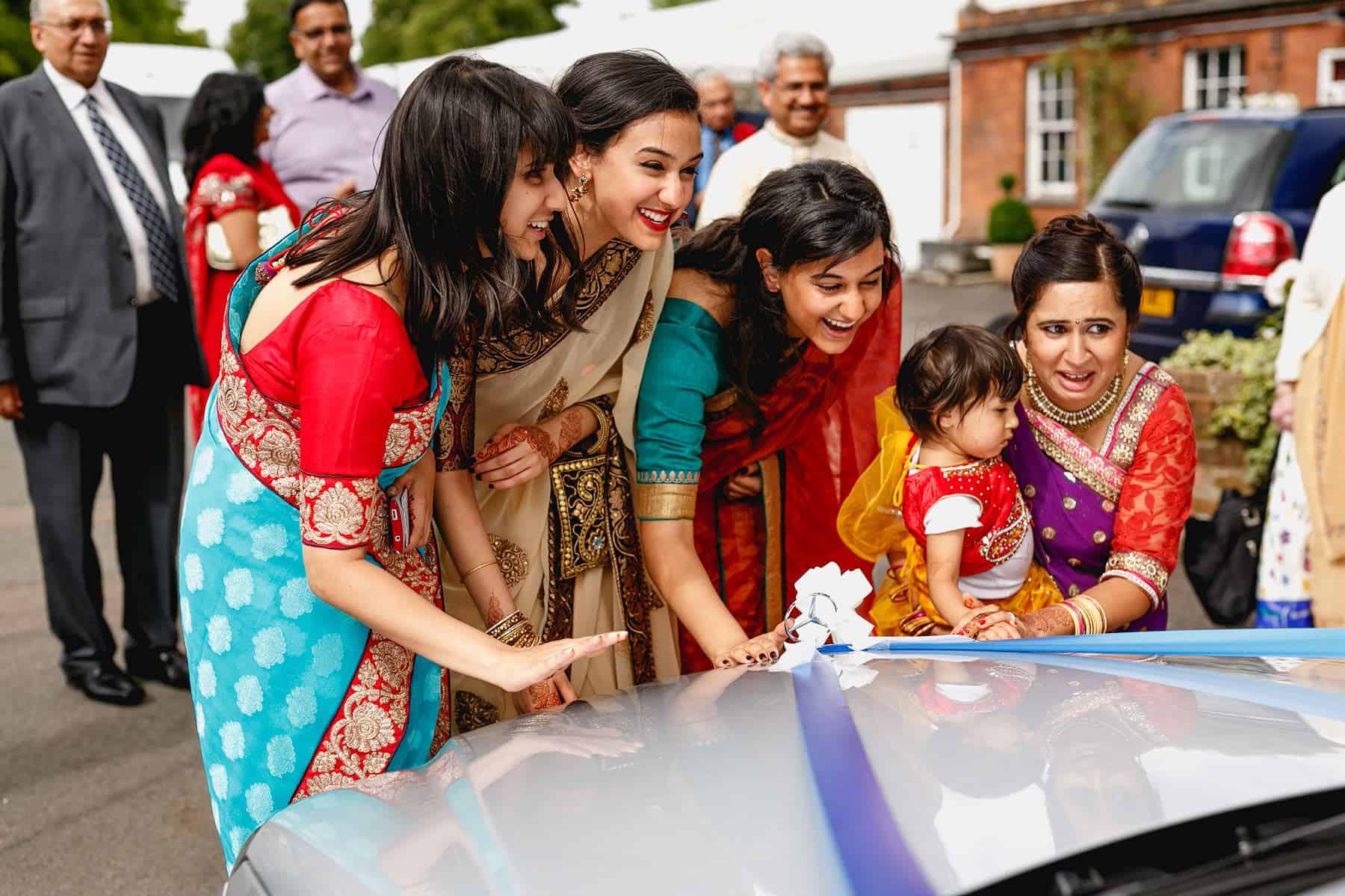 quendon hall hindu wedding photographer