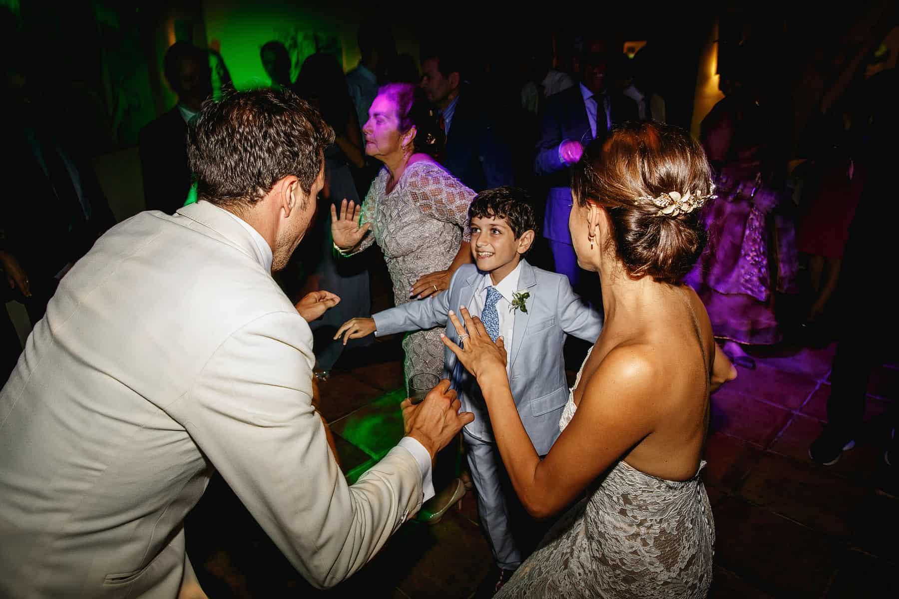 la residencia wedding reception
