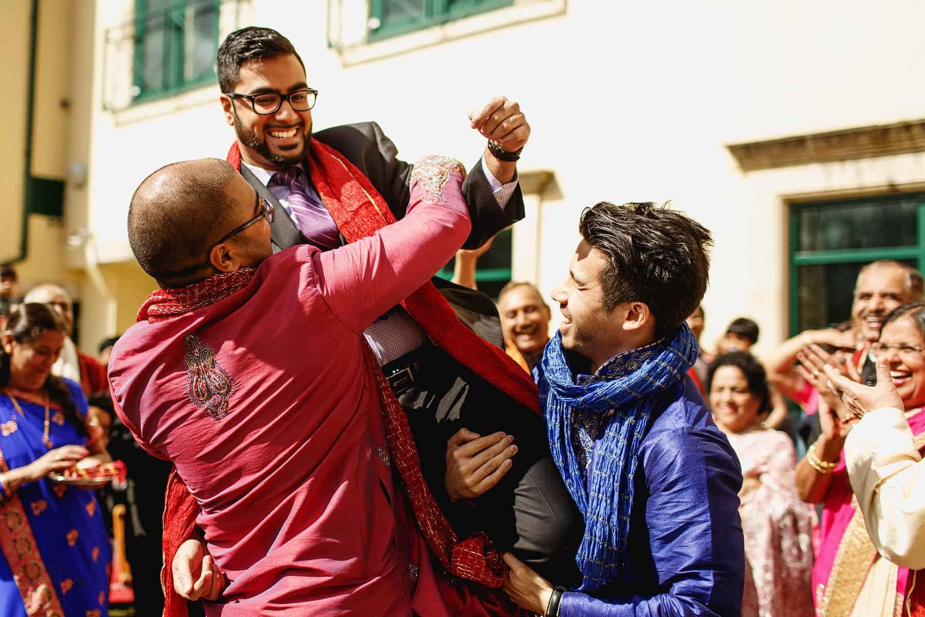 the vale wales hindu wedding photographer