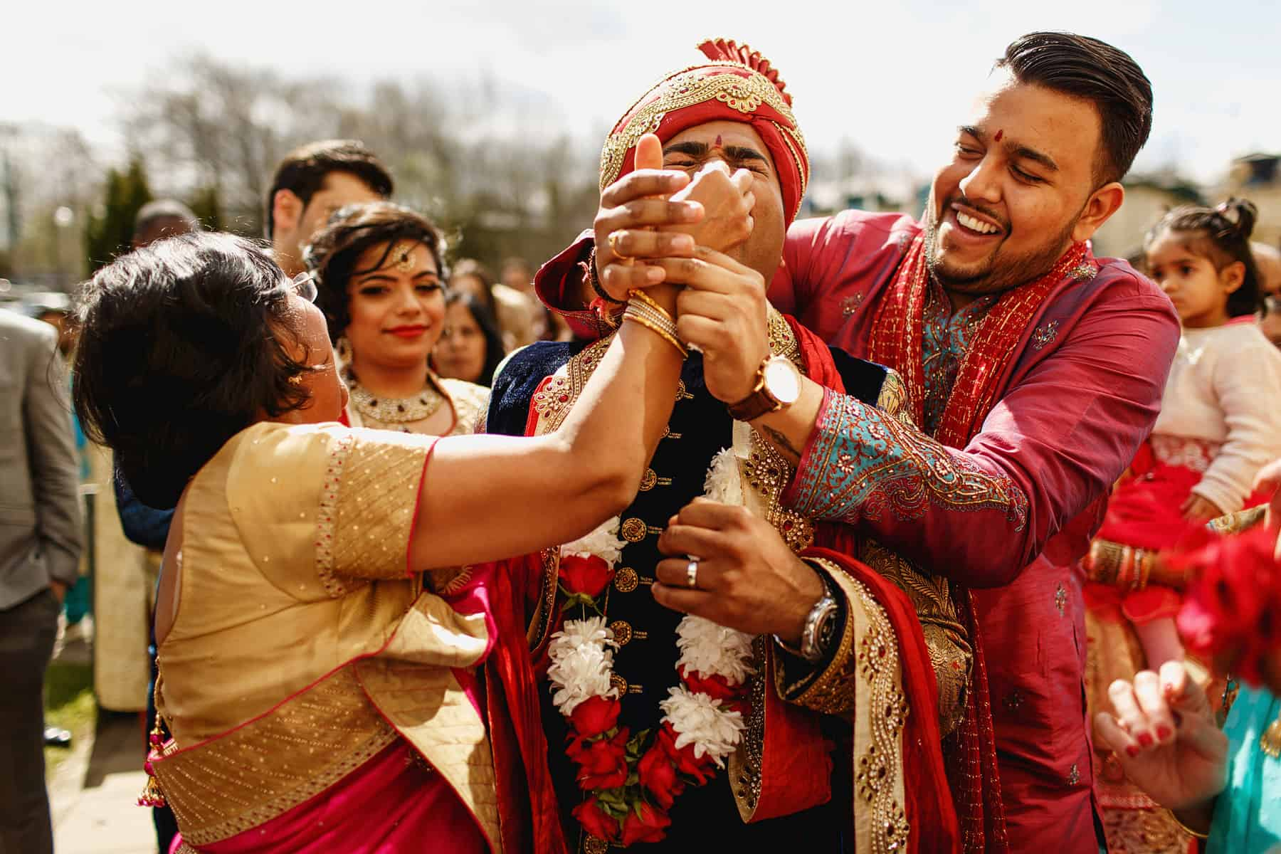 the vale wales hindu wedding photographer