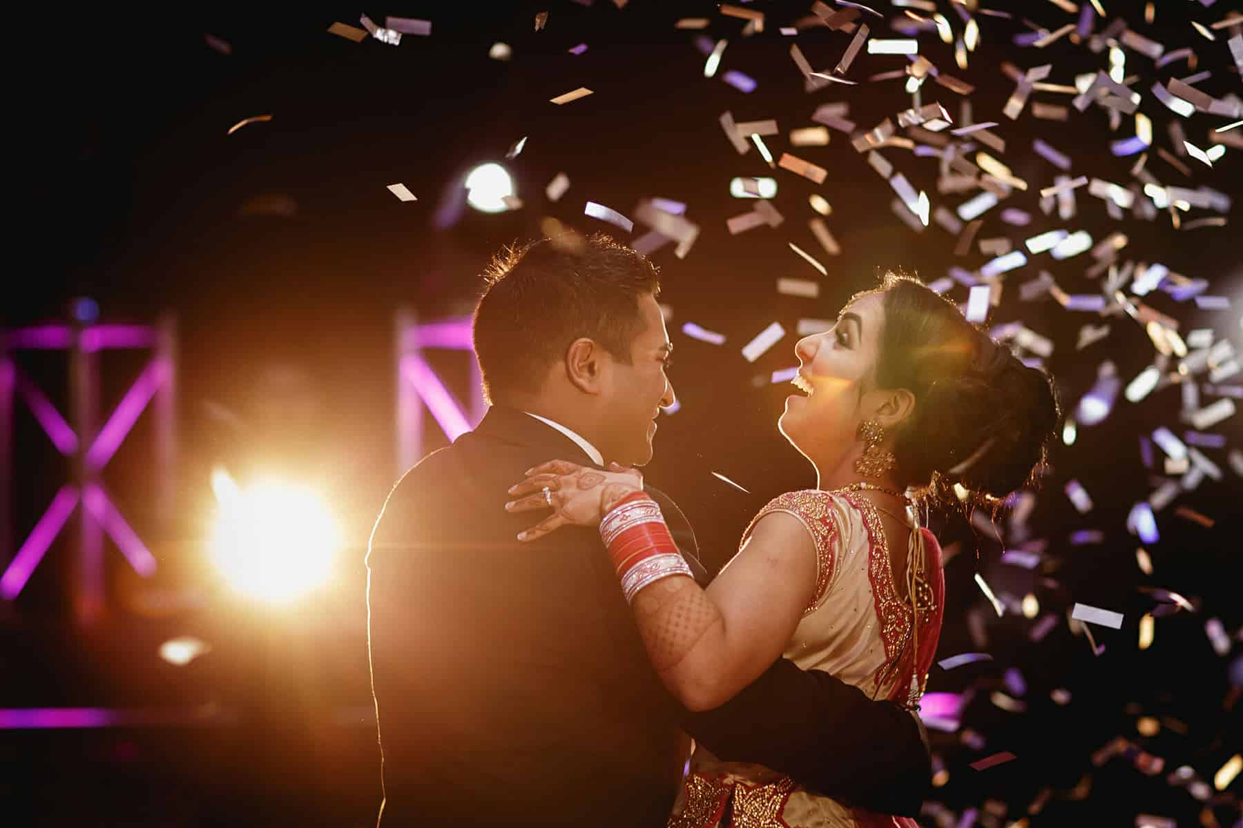 the vale hindu wedding reception
