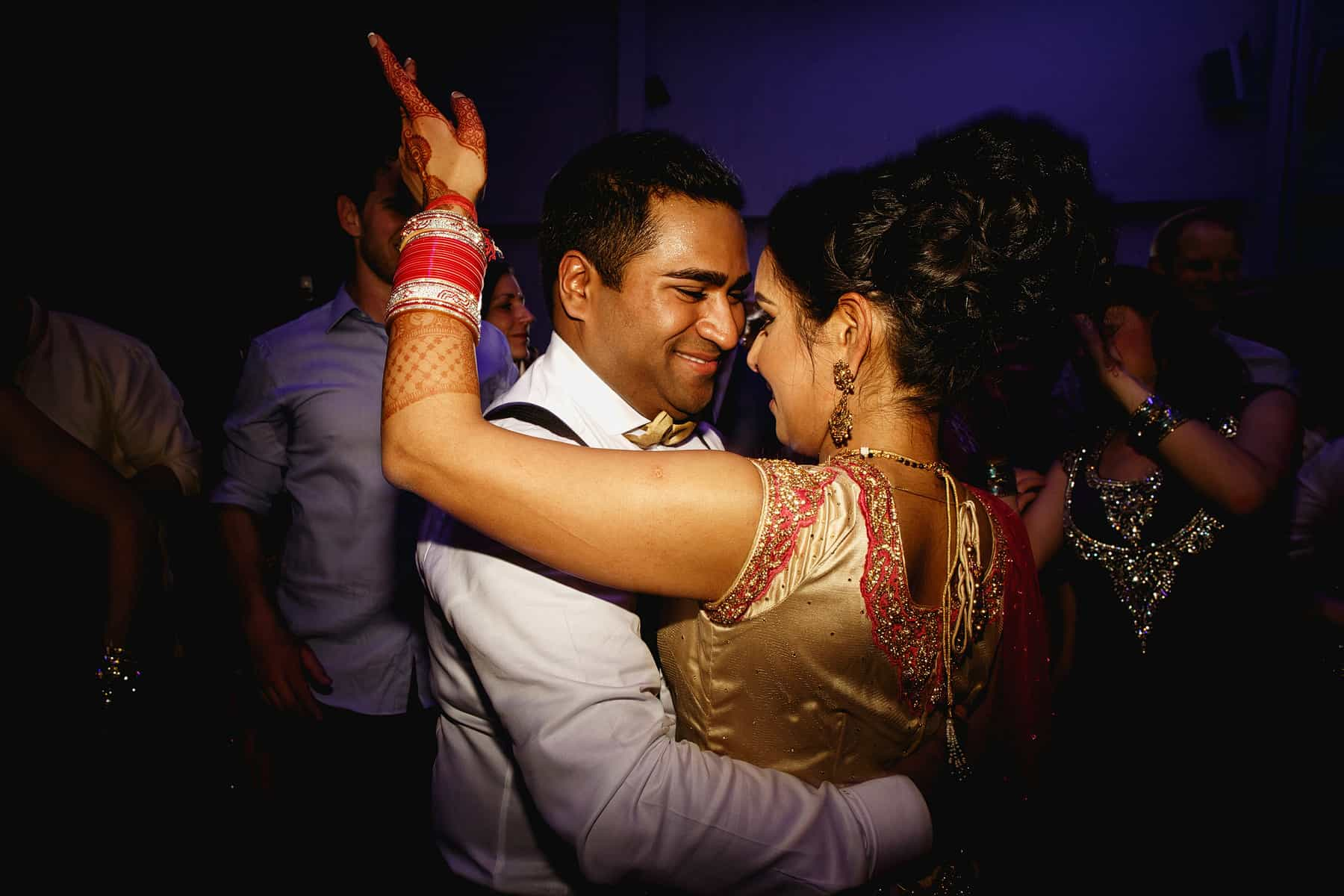 the vale hindu wedding reception