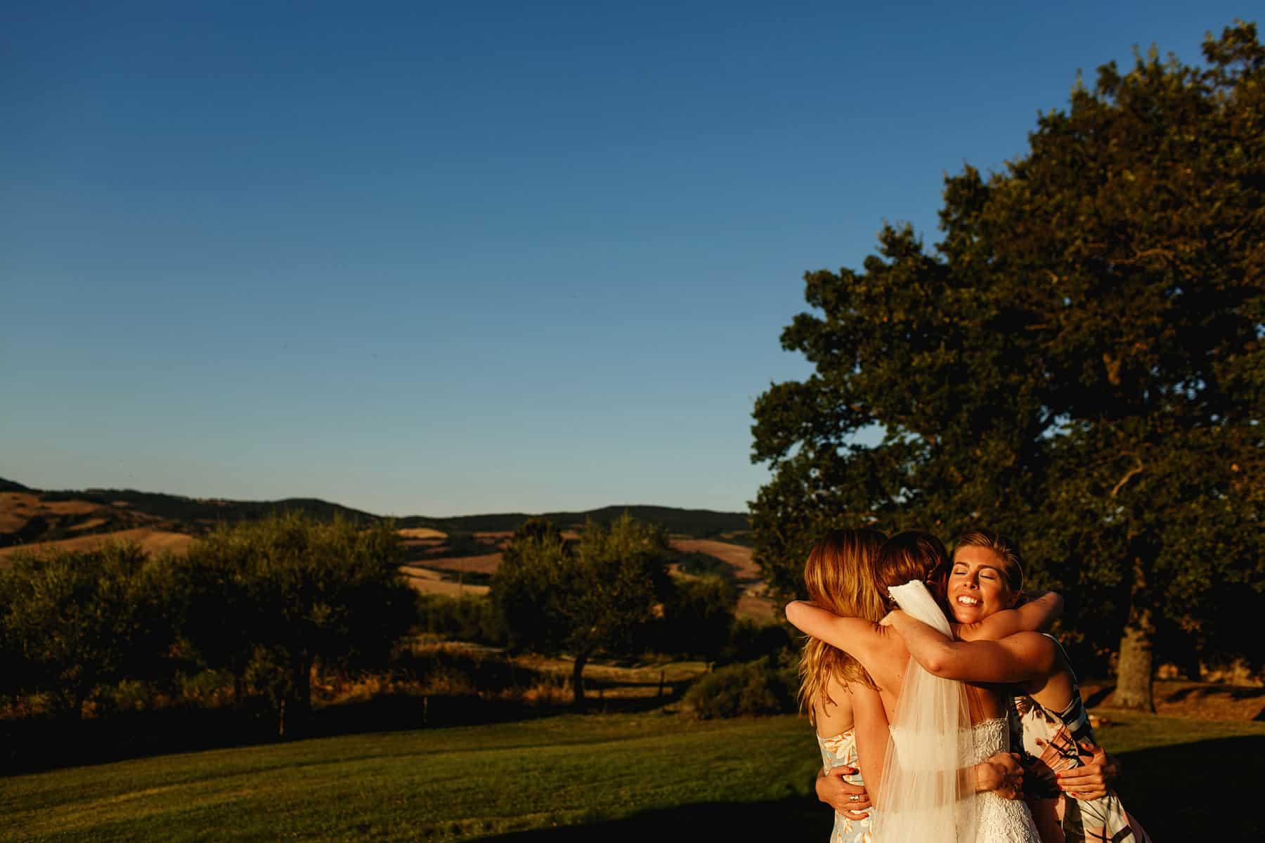 Pienza Tuscany Italy Wedding Photography