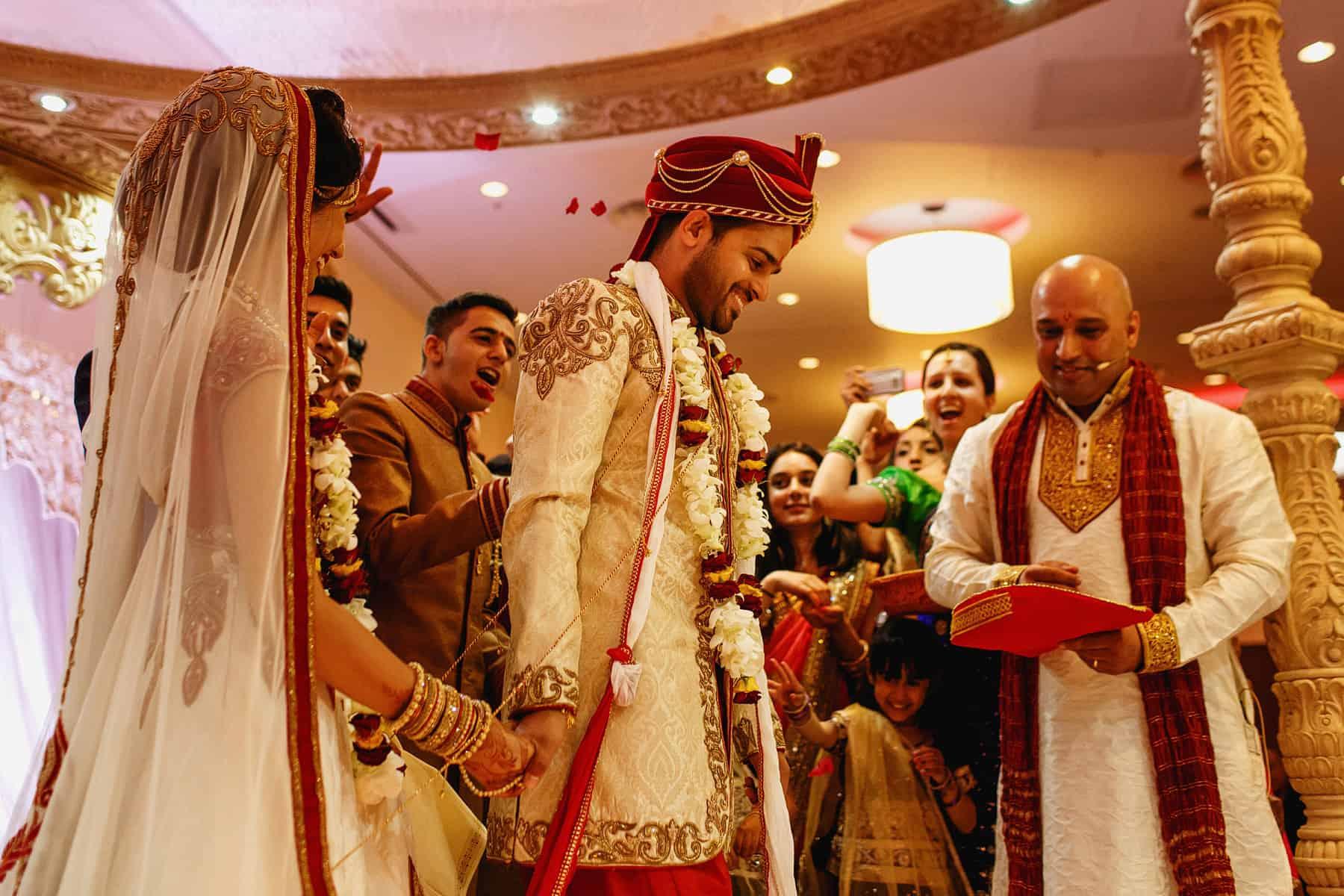 hilton t5 hindu wedding reception
