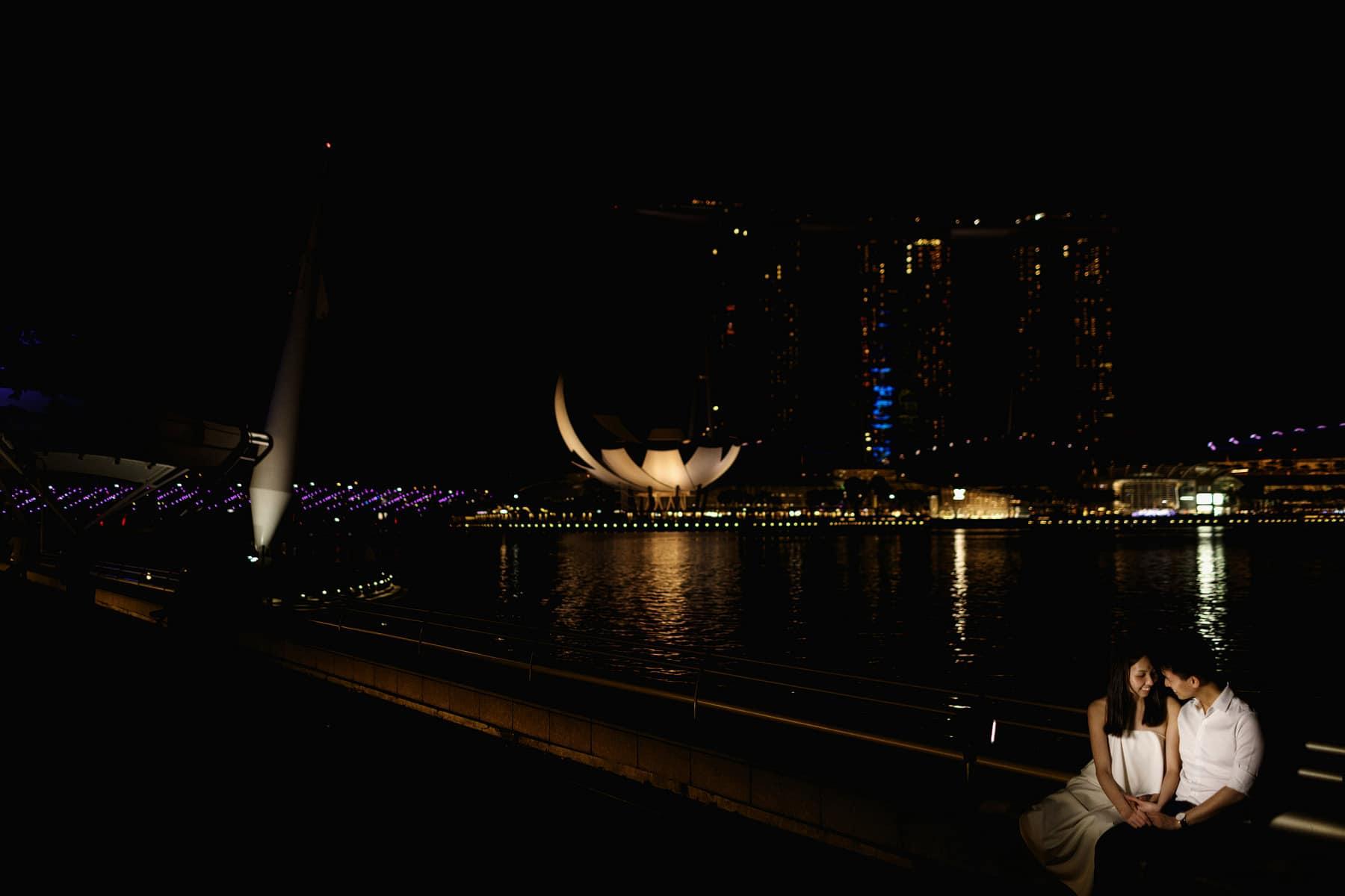 marina bay sands singapore wedding photography