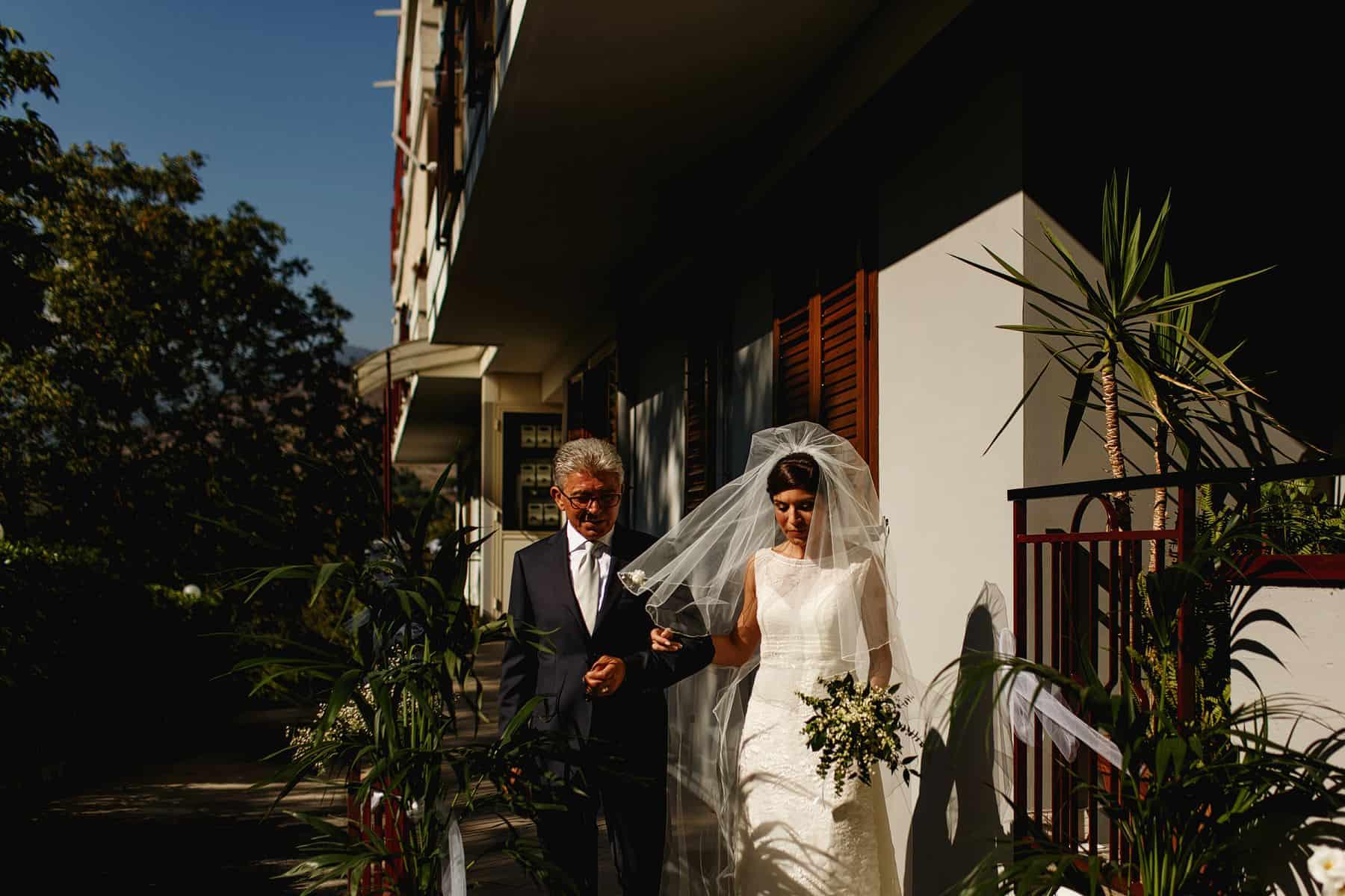 paestum italy wedding