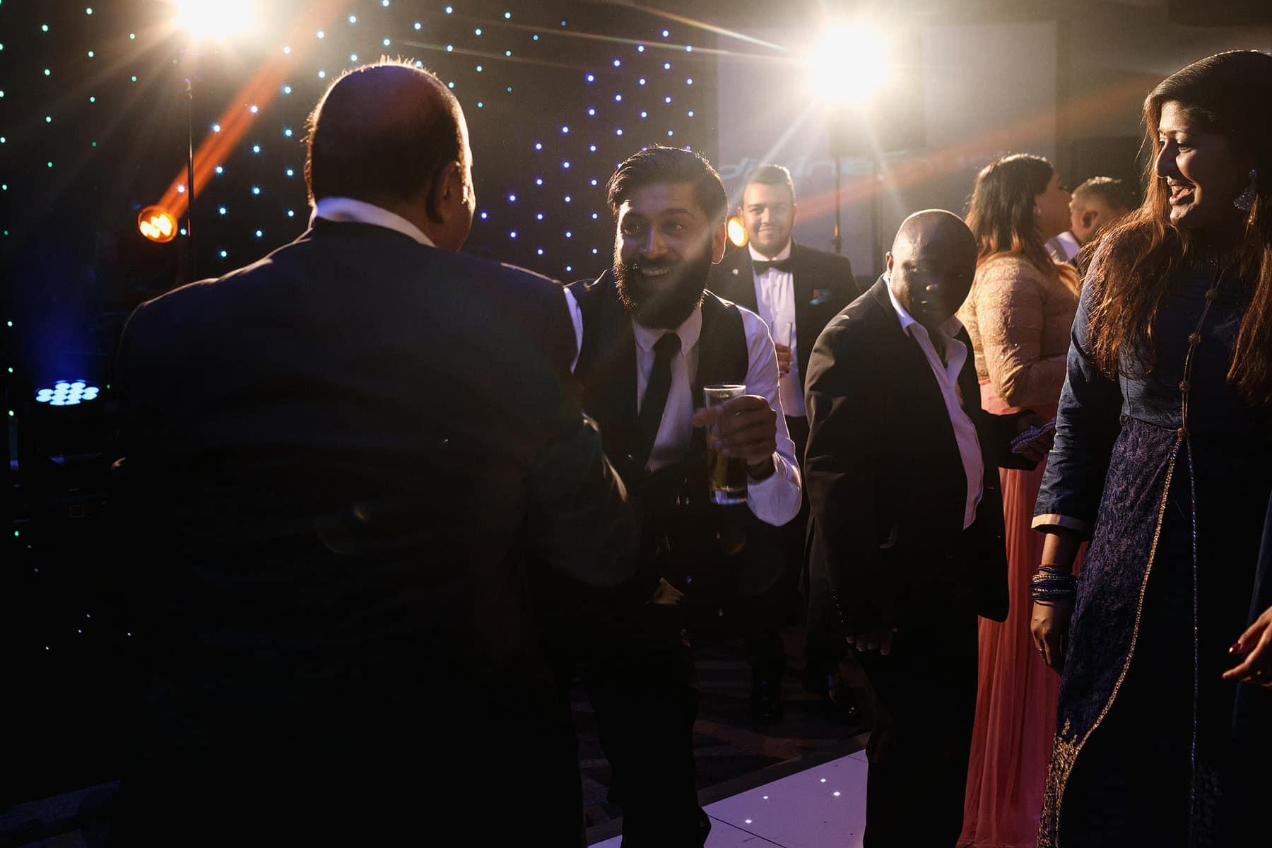indian hindu wedding reception