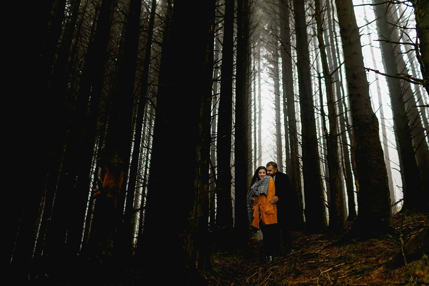 brecon beacons pre wedding shoot