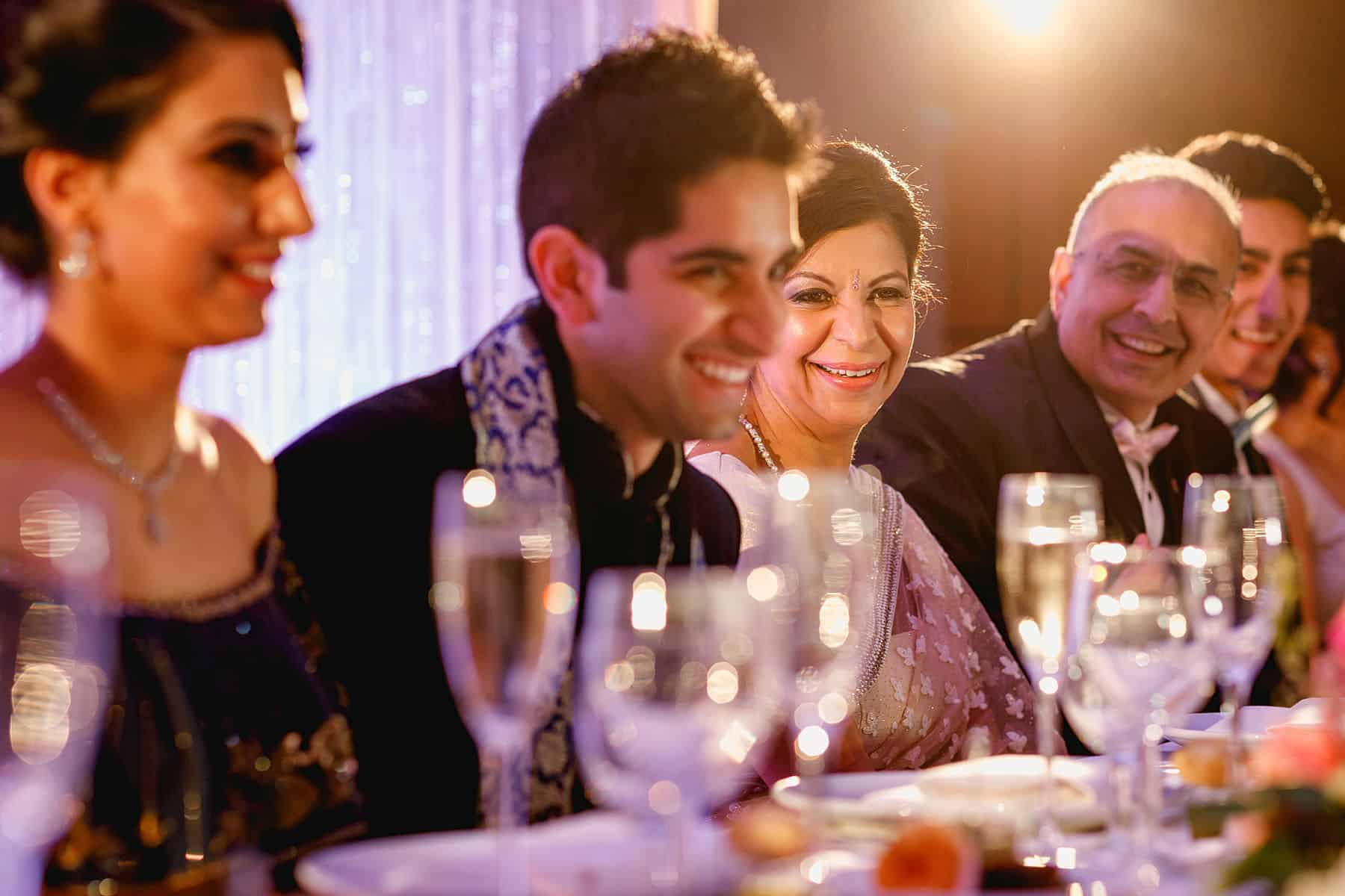 indian wedding reception london hilton metropole