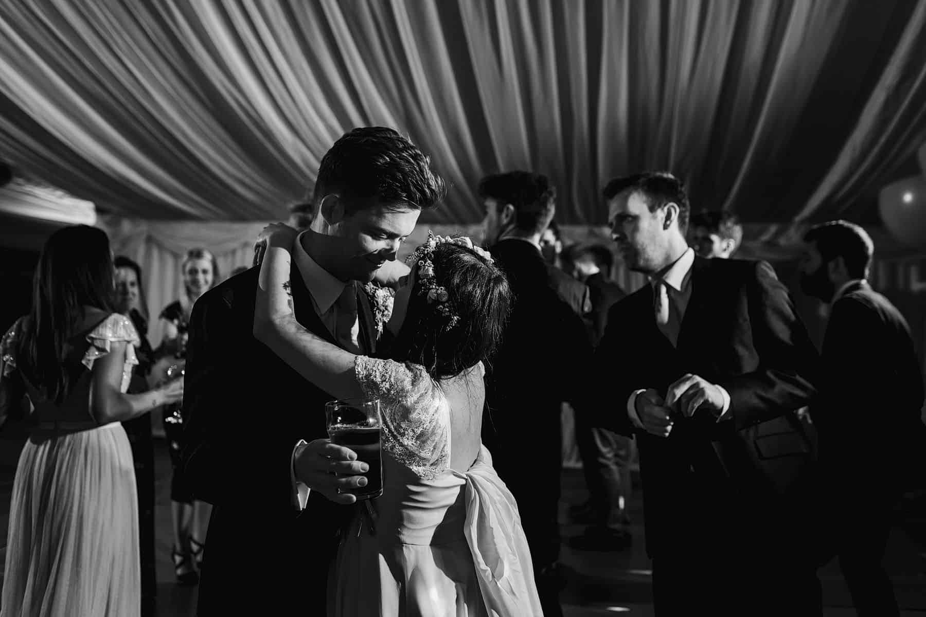 marquee wedding reception photography