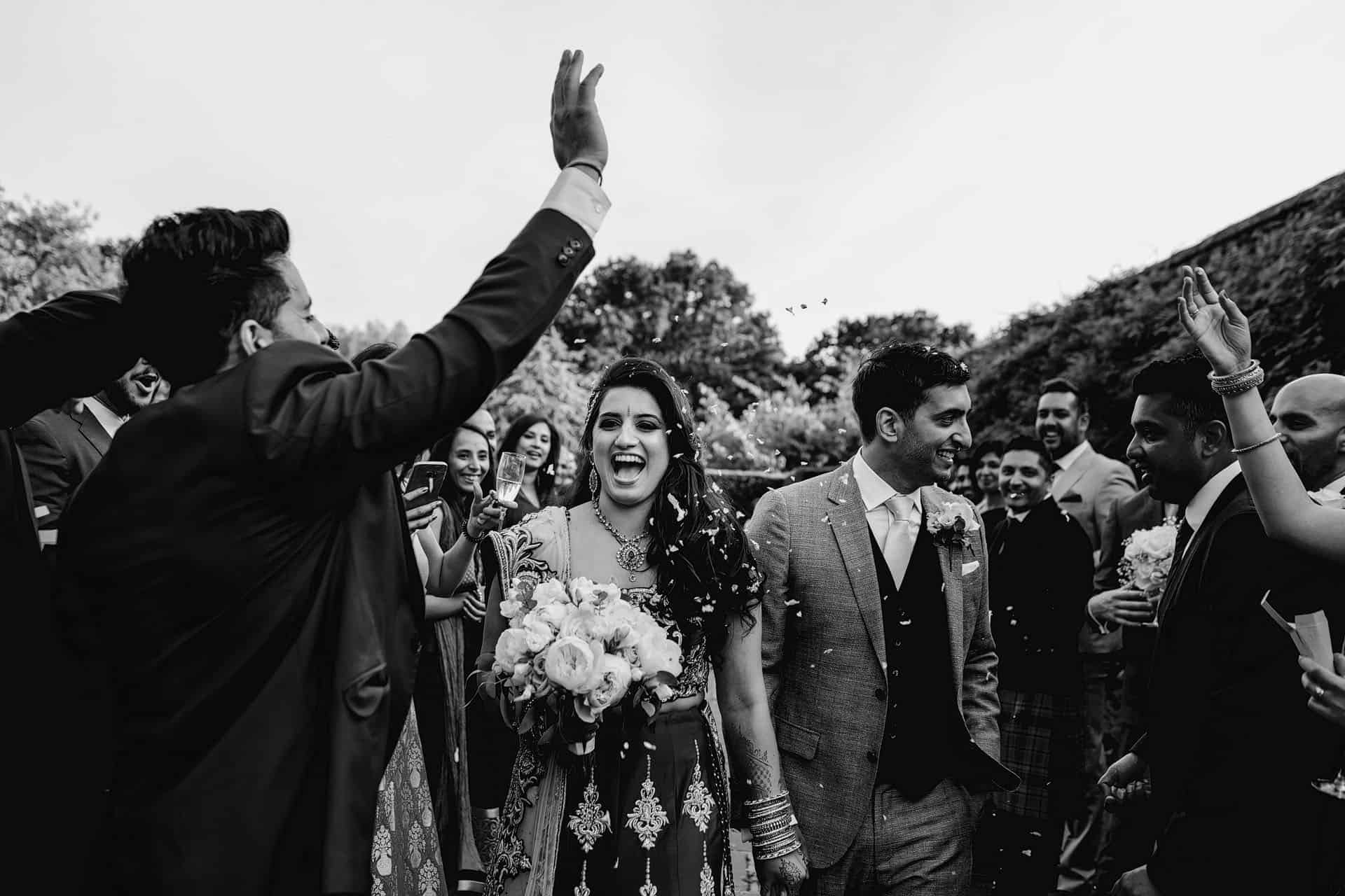 hindu wedding braxted park photographer