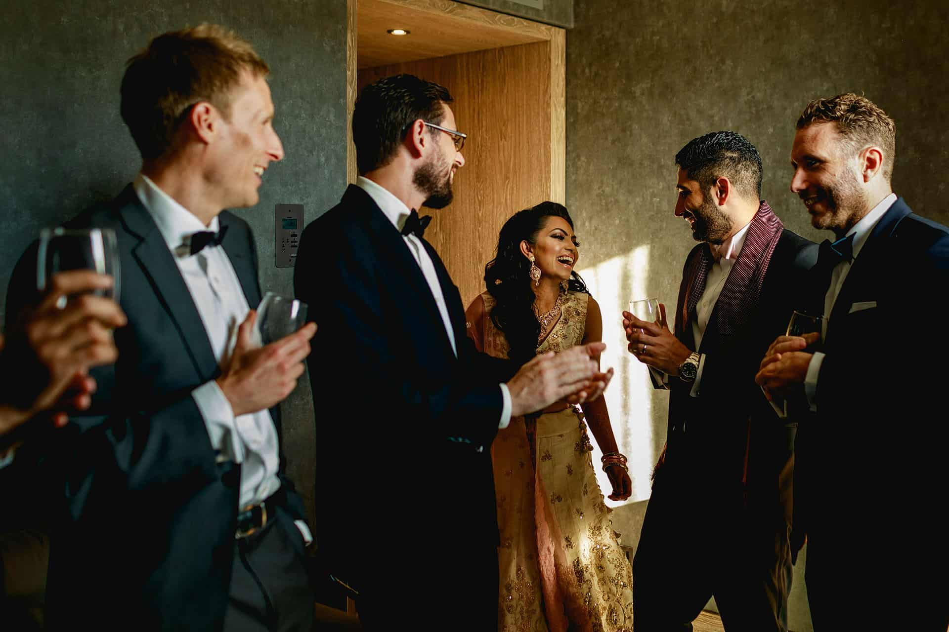 hilton bankside wedding photography