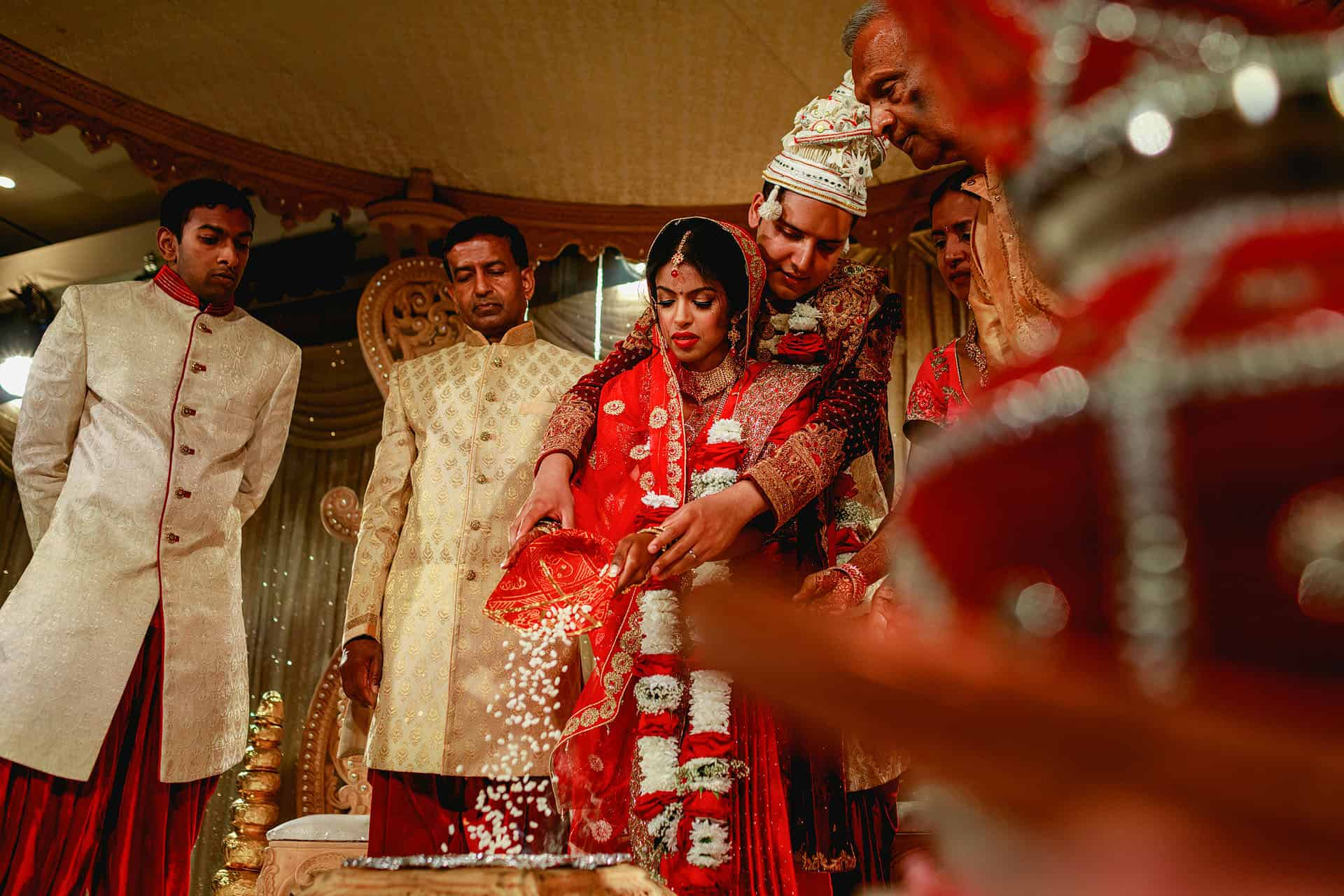 indian wedding the grove