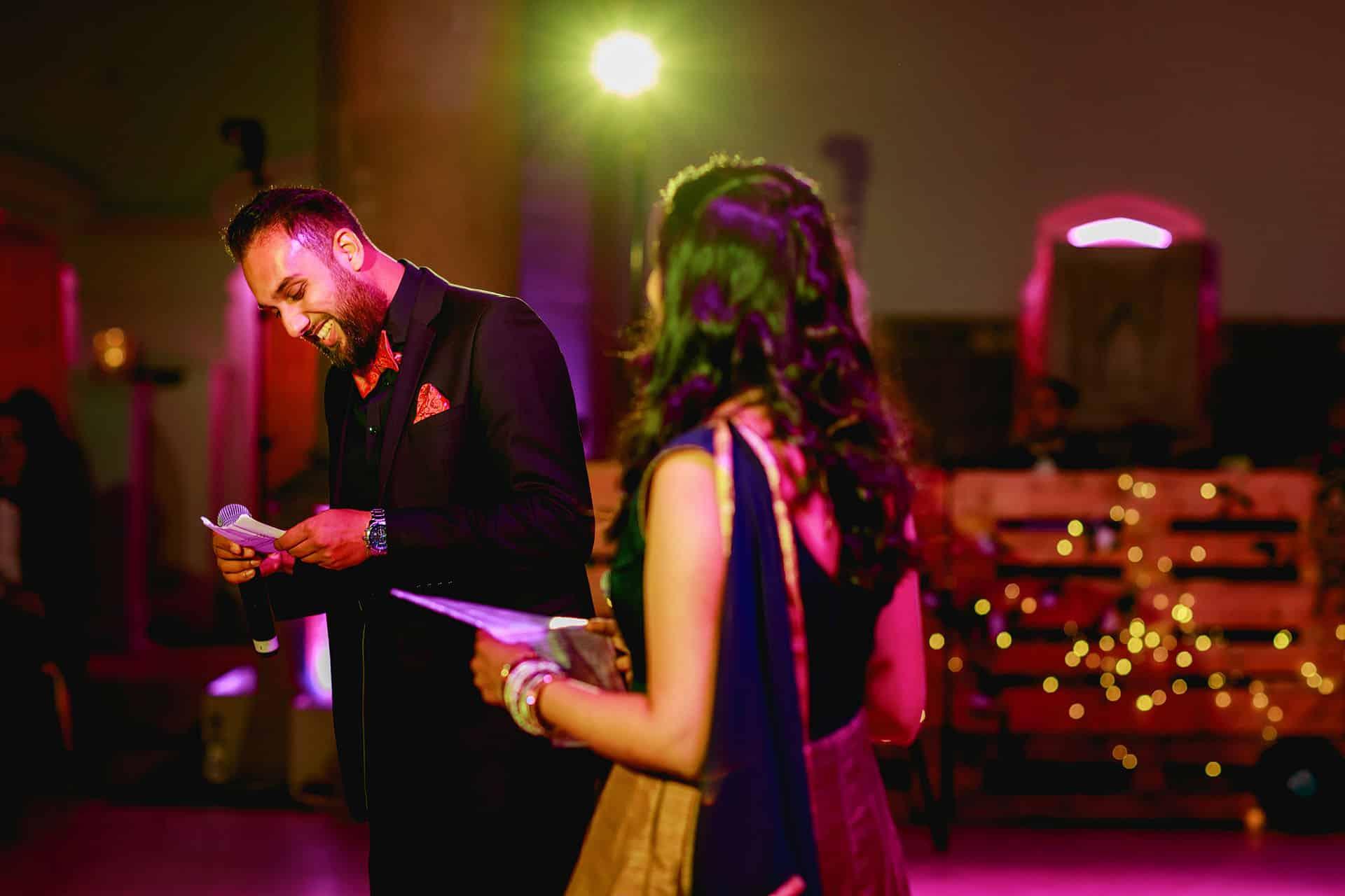 hindu wedding reception manchester