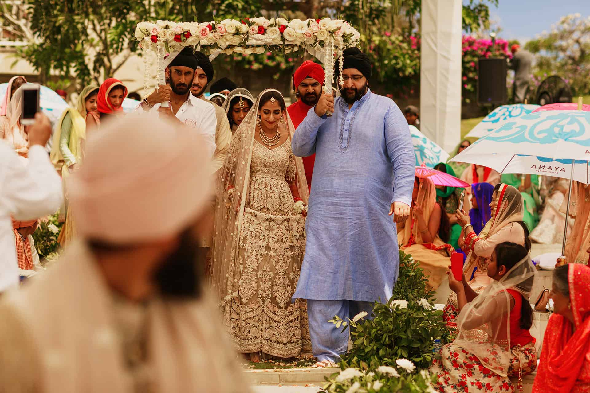 sikh wedding bali photography