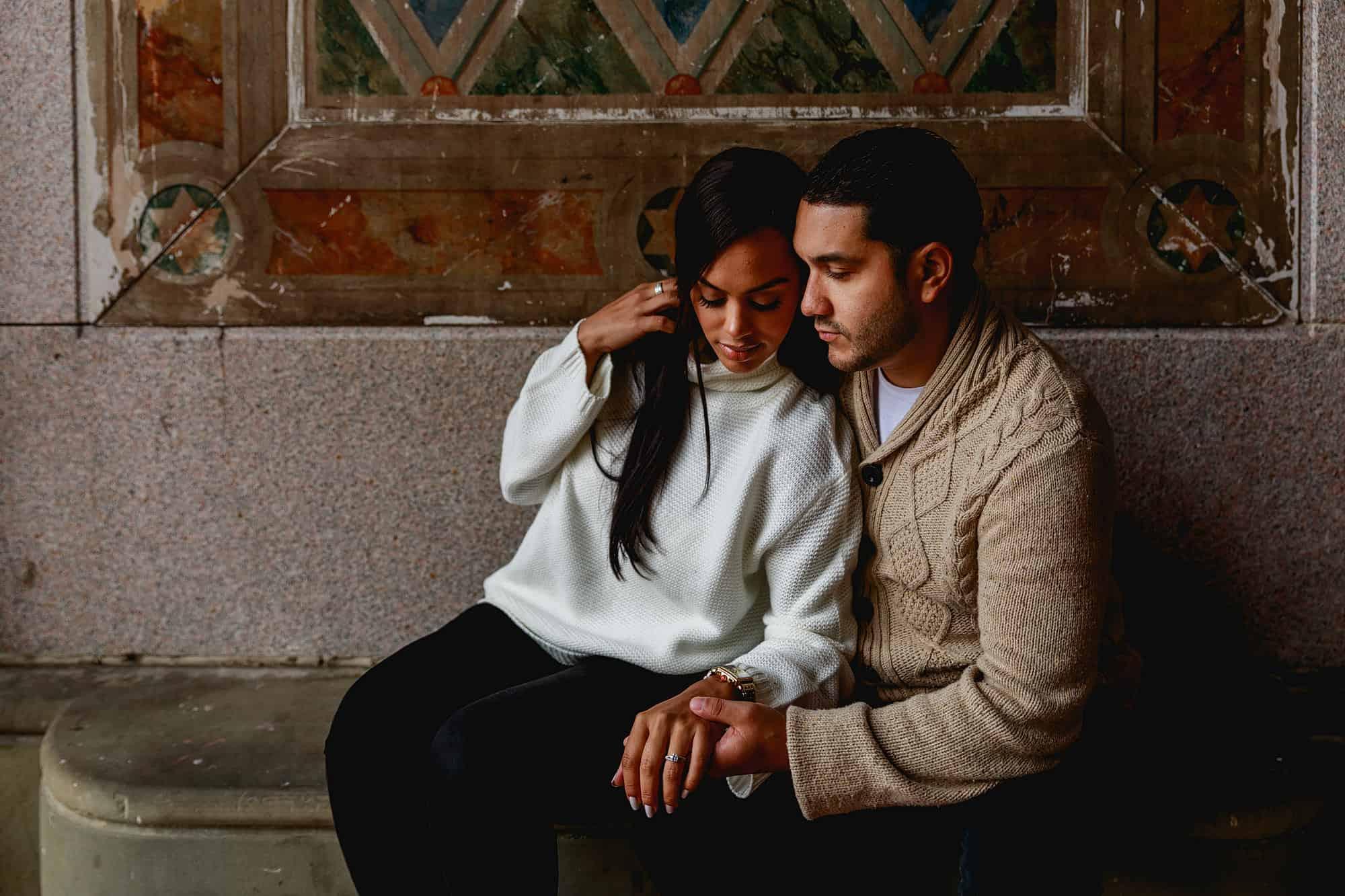 central park couples session photographer
