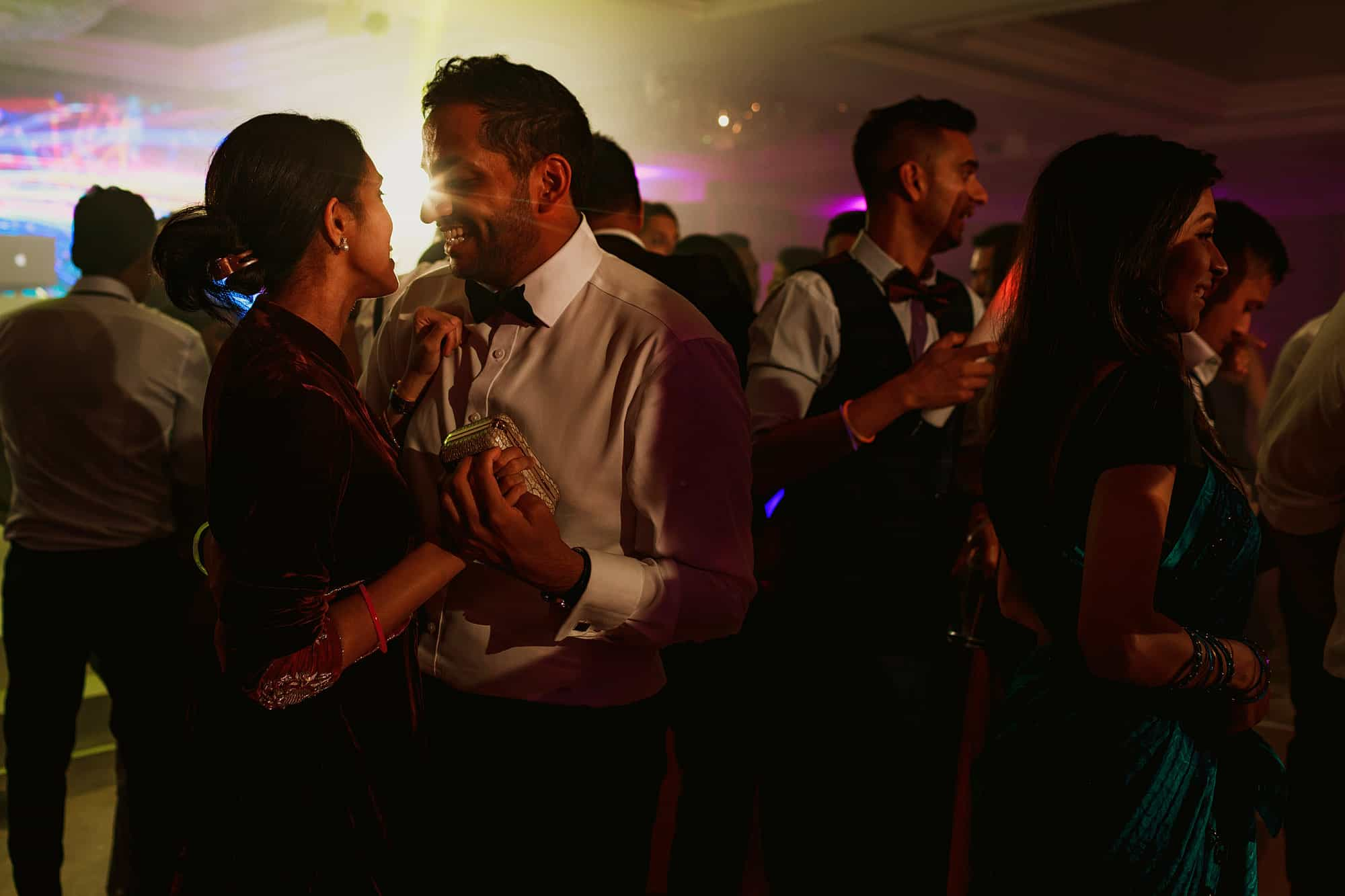 jumeirah carlton wedding hindu reception