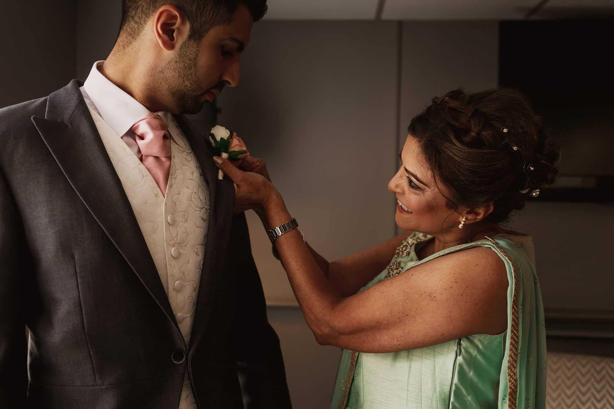 quorn grange hotel wedding leicestershire