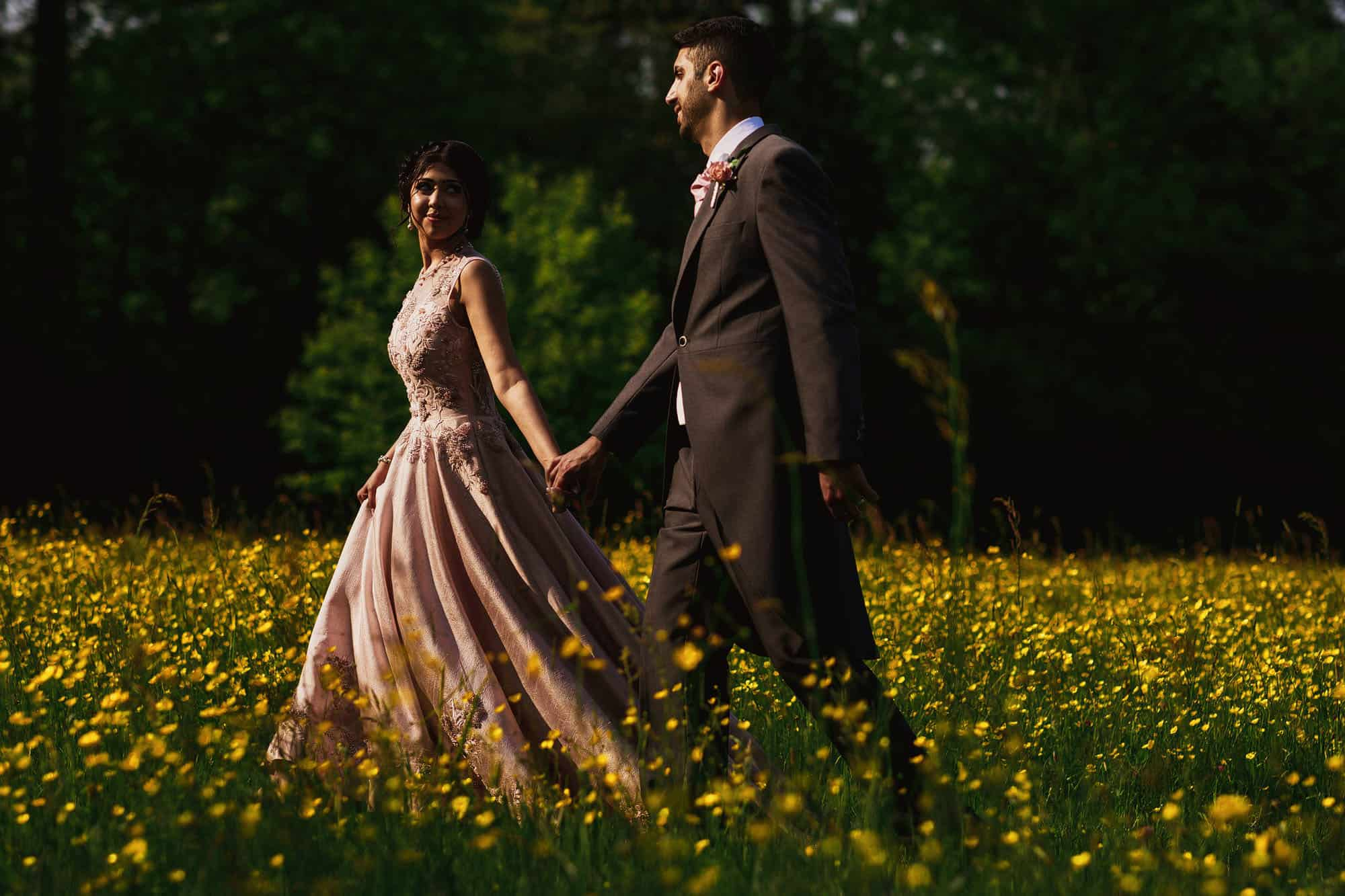 quorn grange hotel wedding portraits
