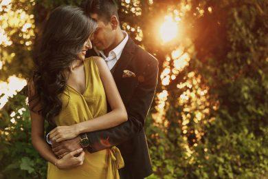 countryside pre wedding shoot england