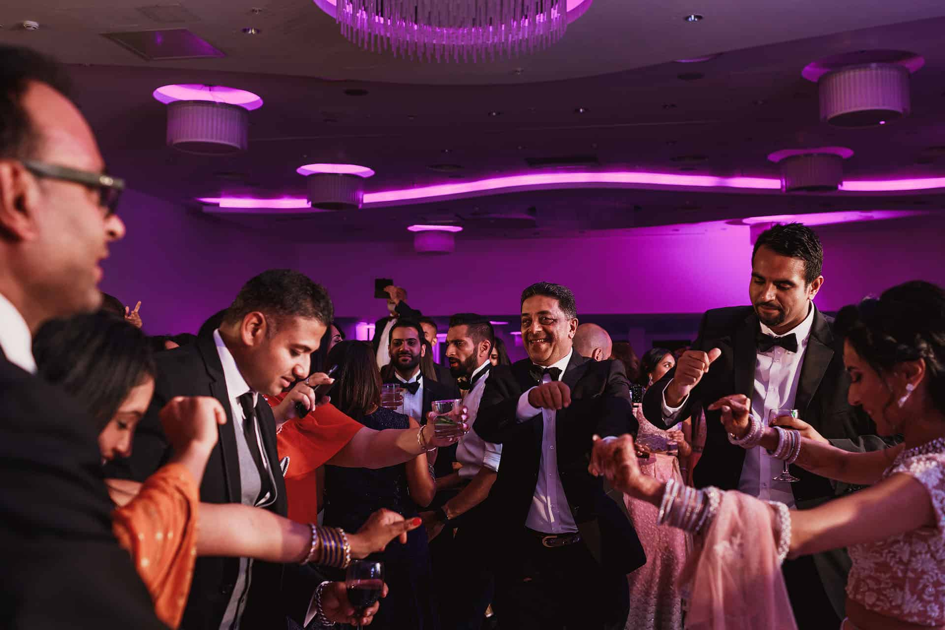 hilton t5 indian wedding reception photos