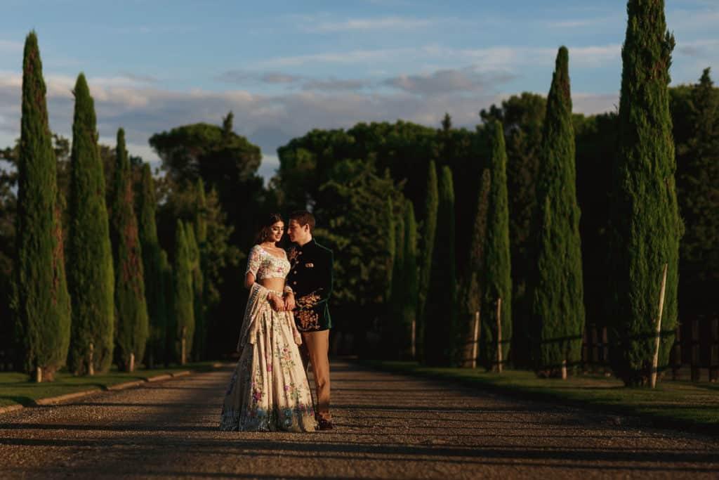 il borro wedding reception tuscany