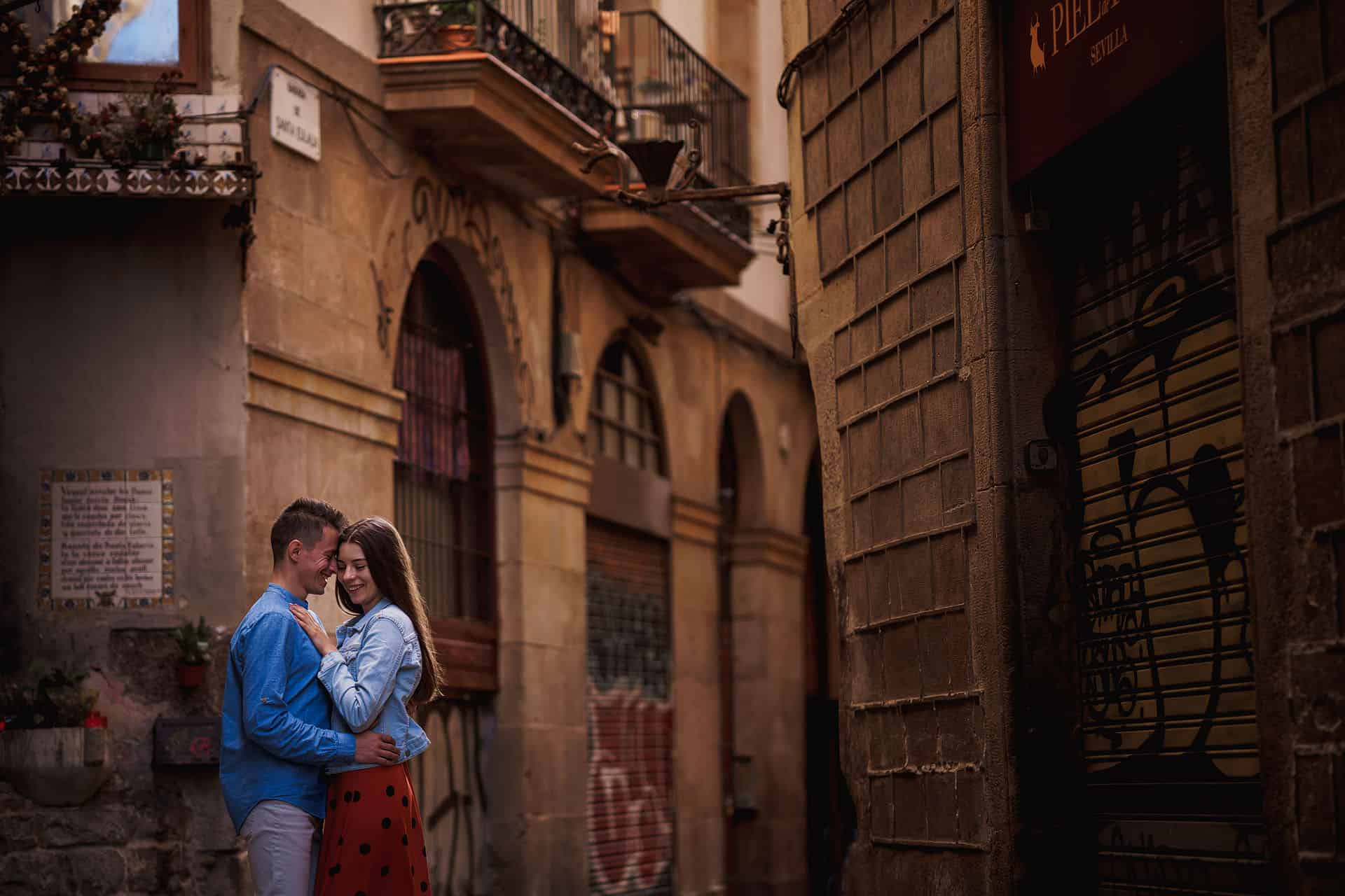 barcelona pre wedding photography