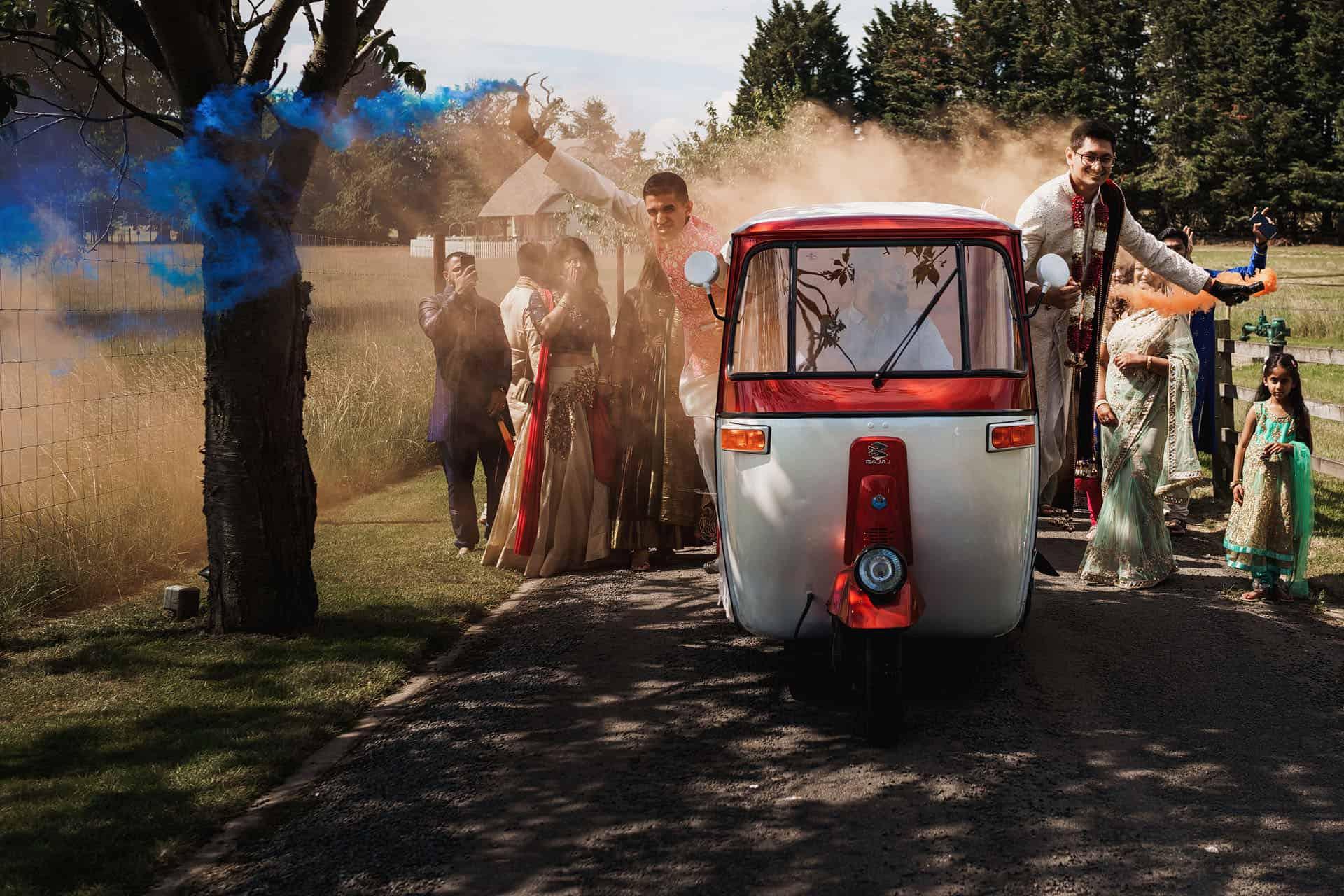 quendon parklands outdoor indian wedding