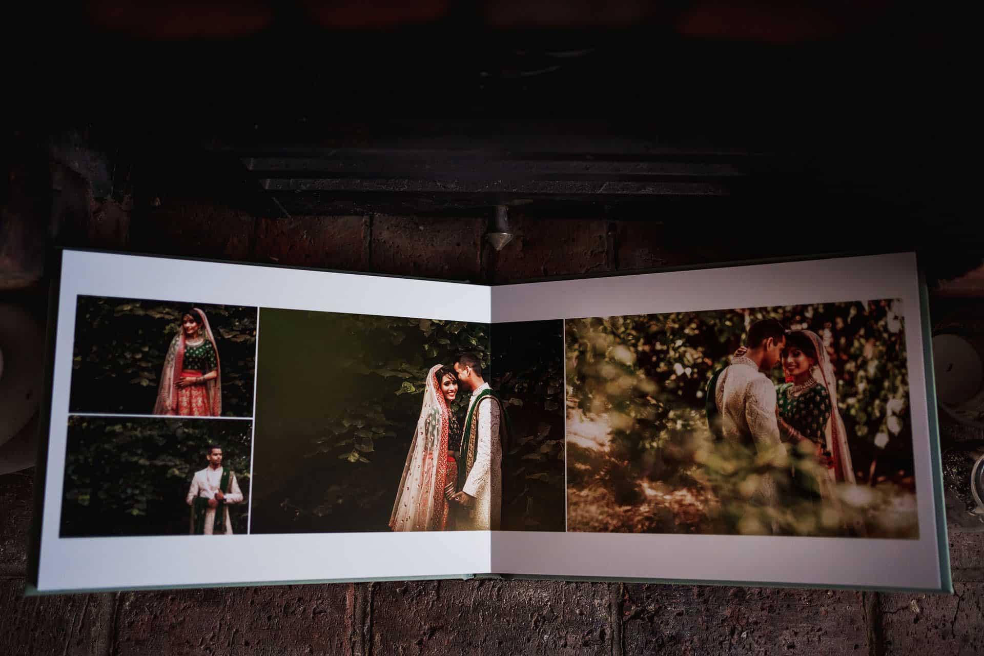 wedding photography album modern