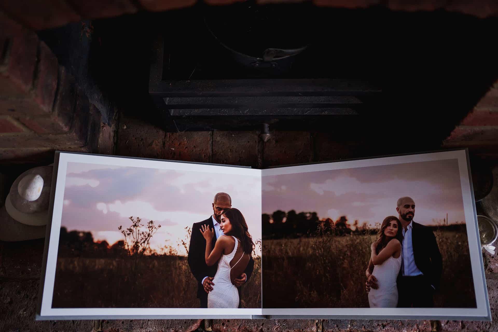 wedding photography album luxury