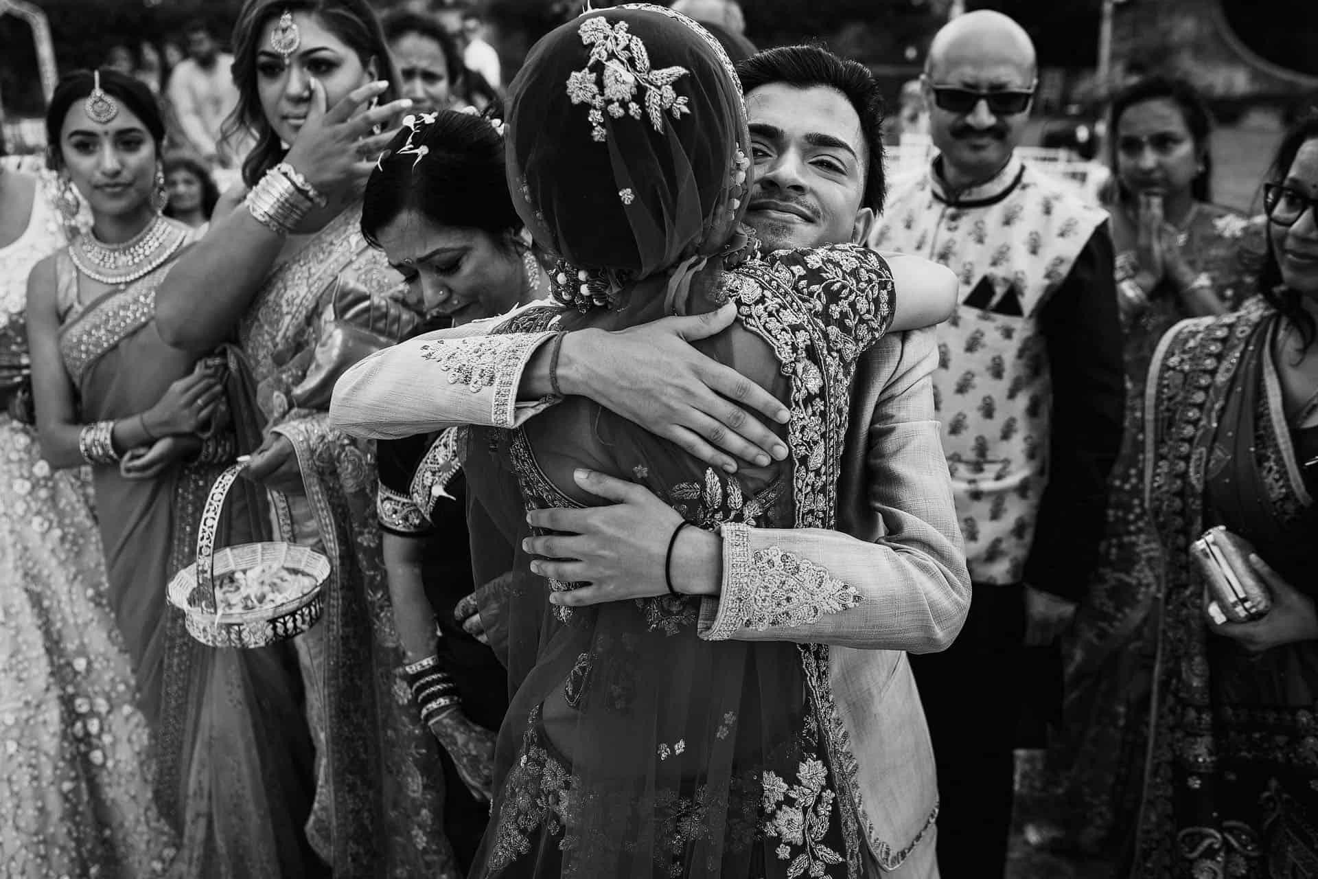 outdoor indian wedding ceremony
