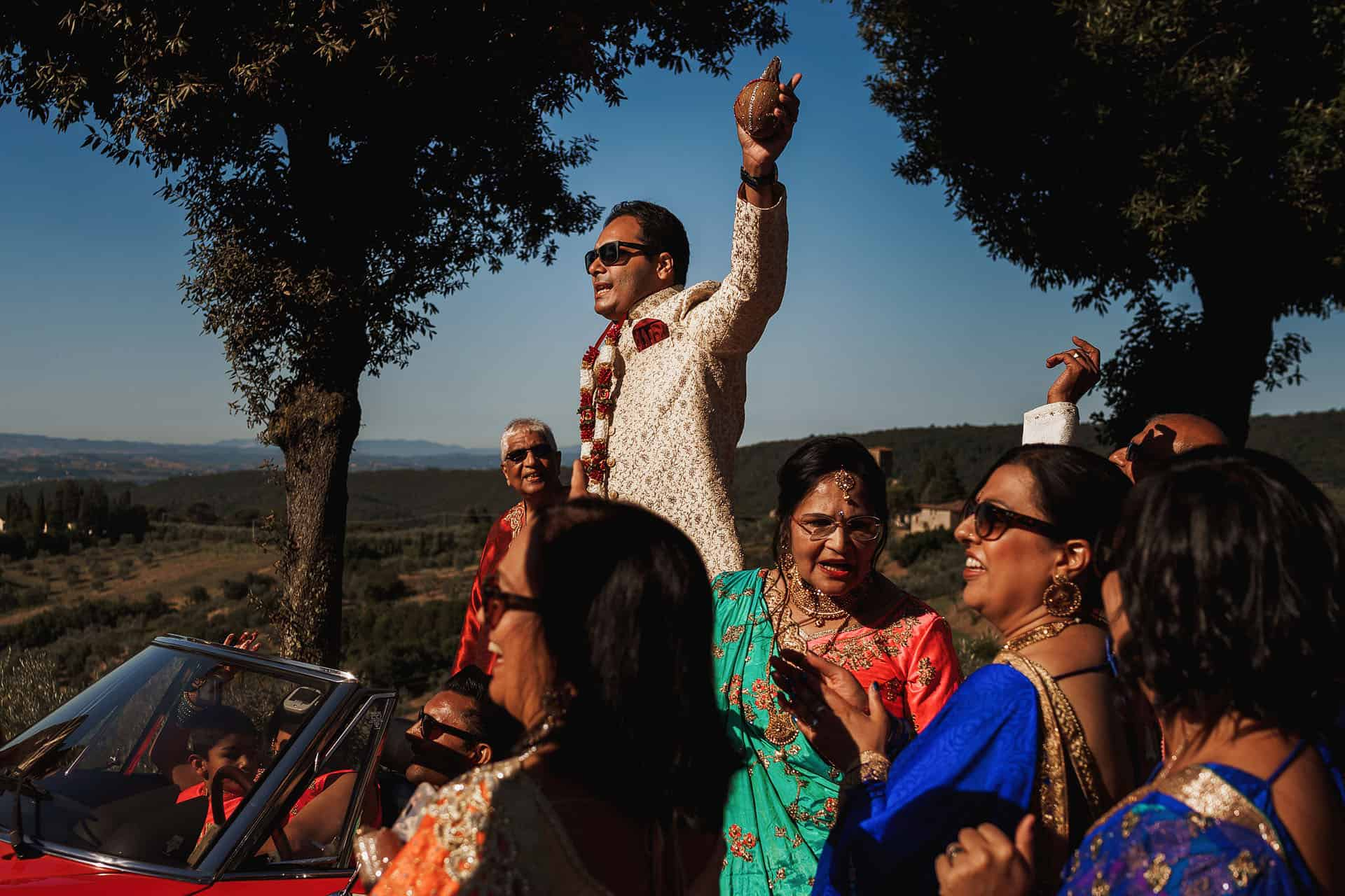 Tenuta di Artimino tuscany indian wedding